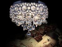 crystal pendant lights ceiling lamps crystal indoor lighting 20cm G4*4 36cm G4*6 diameter Halogen lamp AC 200-240v free shipping