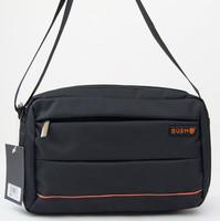 Bush horizontal zipper bags brief fashion casual bag waterproof nylon bag small shoulder bag