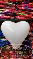 90pcs/lot Thickening white pearlescent heart balloon heart balloon