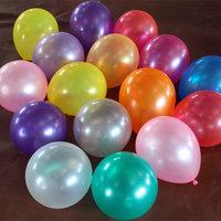 85pcs/lot 10 inch Yellow pearl circle balloon general circle balloon