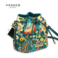 fashion banquet  bucket bag women's cross-body small  shoulder   vintage bag