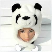 Unisex Plush Hat Cosplay Toys Christmas Gift  Cartoon Animal Panda Cap