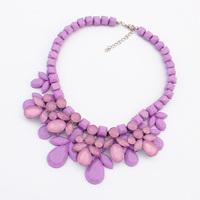 Fashion vintage fashion elegant necklace female short design necklace chain accessories