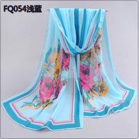 Free Shipping wholesale  spring and autumn thin silk scarf women's scarf chiffon silk scarf