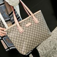 2014 fashion print casual women's handbag