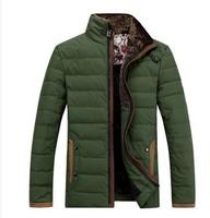 Good quality hot explosion models big yards Men's casual fashion cotton padded jacket thick jacket coat free shipping