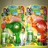 Toy plant bubble gun flash bubble gun bottle bubble water