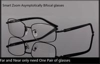 intelligent Dual smart zoom asymptotically bifocal reading glasses