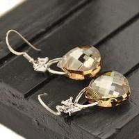 Bag earrings bags crystal earrings fashion