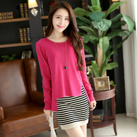 2014 autumn women's set autumn sweater twinset knitted autumn one-piece dress long-sleeve