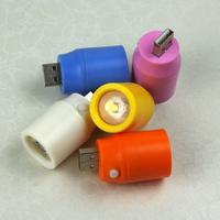 Usb flashlight led lighting charge treasure mobile power flashlight 0.5w with switch