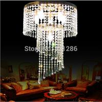 crystal ceiling light lighting stair rotating crystal lamp long dome light Modern Crystal Ceiling Light Fixture Crystal Lamp