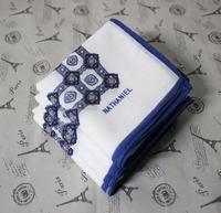 100% cotton print  women's handkerchief  40*40cm free shipping