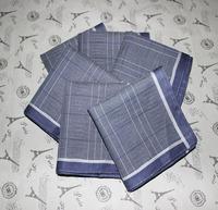 Quality male 100% cotton satin side handkerchief classic man handkerchief free shipping
