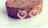Hot Sell Fashion Earrings/Fashion jewelry/Diamond pearl earrings / free shipping