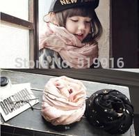 Child scarf muffler female child scarf children's clothing 14 peach cream
