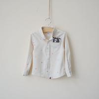 2014 spring new arrival boy shirt child hericium 100% cotton shirt