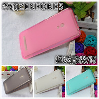 High quality TPU SOFT silicone silicon 4 color budding jelly protective back cover case For ASUs zenfone5 zenfone6 5pcs/lot