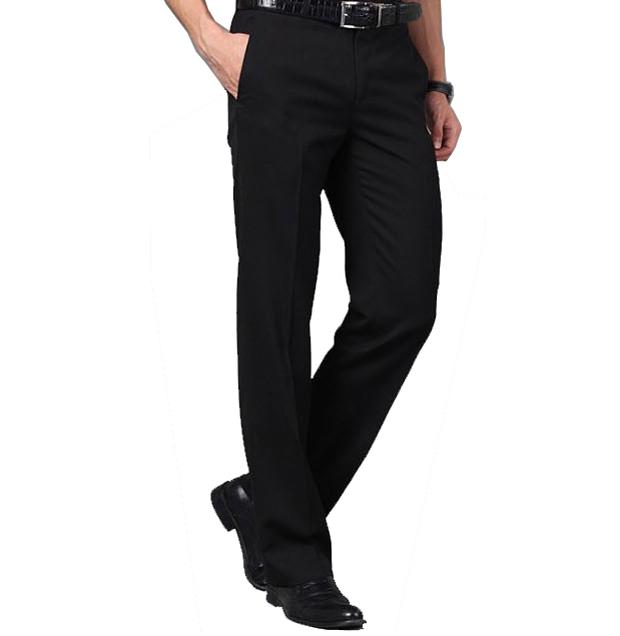 New Women Summer Dress Pants Black Spring Summer Slim Straight Long