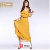 2014 Promociones sra Sexy saias longas femininas