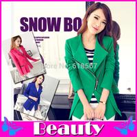 2014 New Slim women suits Long Sleeve O-Neck women blazer women formal blazer S-XL blazer feminino Free Shipping chaquetas mujer