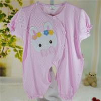 Baby newborn baby summer male clothes cartoon set 100% cotton bodysuit romper