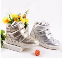 2014 children shoes girls shoes new winter han edition single recreational leather shoes kids shoes for girl