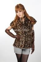 Fashion personality irregular mink hair fur vest