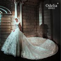 Luxury sparkling diamond country western wedding dresses 14 bridal white wedding dress tube top type straps lace wedding dresses