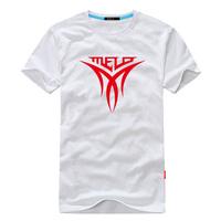 new men Basketball star t shirt logo short sleeve melon ultralarge melo men's clothing totem 6XL 5XL 4XL plus size loose sports