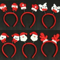 Christmas hair bands Christmas decoration supplies clothing hair bands christmas decoration