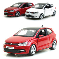 Volkswagen polo gti mark 5 roadster alloy car model toy 16*7*6cm