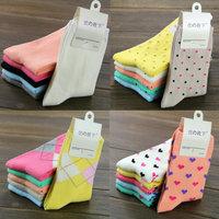 Free Shipping female sock cotton socks autumn and winter knee-high women socks