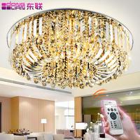 2014 Years Dawning modern brief led living room lights crystal ceiling light bedroom lights lamps circle crystal lighting