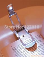 LED clip reading lamp mini book light  folding portable for business trip metal material 3075
