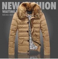 Top quality free shipping men winter jacket cotton padded coat men's casual coat 4 colors M L XL XXL XXXL