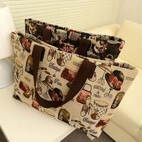 Hot 2014 New All-match Canvas Big Women Handbag Shoulder Bags Women Messenger Bags High Quality Women Bag Wholesale Bolsas