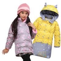 Free shipping retail Child medium-long 2013 sleeping bag down coat male infant children