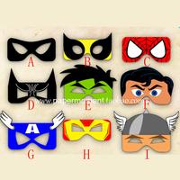 Diy handmade paper membrane mask props