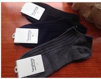 Free shipping high quality  male cotton socks sports boats sock slippers short socks four season socks