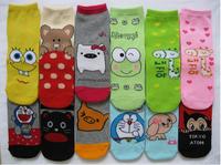10Pair/Lot 2014 New Women/Men Socks Promotion HIGH QUALITY Baby Socks Girl Or Boy Children Cotton Sock