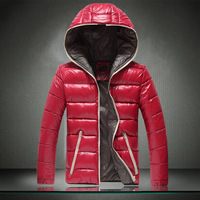 Man Autumn Winter 2014 Men Coats Jackets Hooded Waterproof Down Cotton Coat Parka Outdoor Wear High Quality Plus Size M-5XL 1001