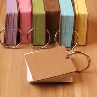 Free shipping 100pcs Retro Standard Gift Handmade soap tag Cardboard DIY Small label kraft paper blank word cards