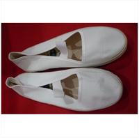 Cotton-made work shoes general style Women Men shoelace Web shoes