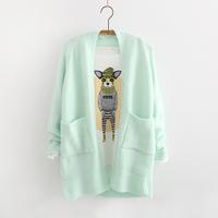 women's sweater all-match cardigan outerwear 2014 autumn