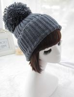 Styled new arrival Women winter Korean female winter wool cap influx of warm knit cap Cute ovo ball Ear Warm hat Free shipping