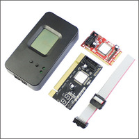 4 in 1 Laptop PC motherboard Analyzer Mini PCI-E PCI EXPRESS  / LPC / MINI PCI / PCI diagnostic debug post card Free shipping