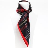 53*53cm Bocoos silk mulberry silk leugth red formal small silk scarf small facecloth scarf