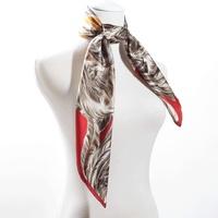 88*88cm Bocoos silk mulberry silk stripe mulberry silk slanting facecloth large silk scarf cape