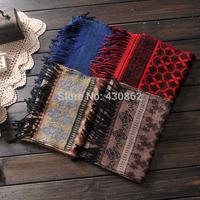 General 2014 tassel rectangle scarf & ring